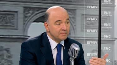 Pierre Moscovici, le ministre de l'Economie, était l'invité de BFMTV ce 22 janvier