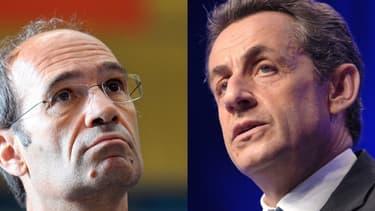 Eric Woerth et Nicolas Sarkozy.