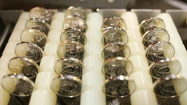 """Des """"euros-or"""" comme solution alternative à l'euro?"""