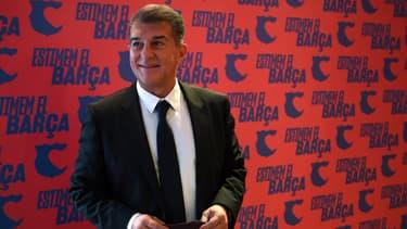 Joan Laporta, réélu président du Barça
