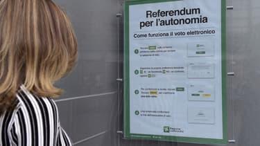 La Lombardie et la Vénitie votent pour plus d'autonomie.