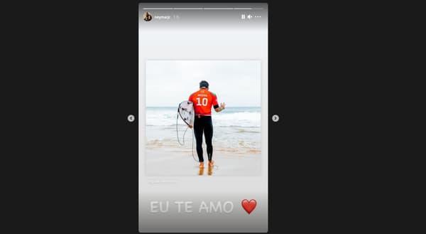 Neymar soutient Gabriel Medina