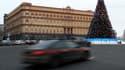 Le siège du FSB et ancien du KGB, à Moscou.