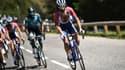 Jérôme Cousin a fini la 16e étape hors délais