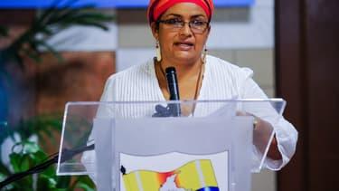 Victoria Sandino, responsable politique des Farc, le 21 mai 2015 à Cuba.