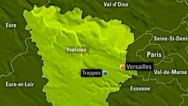 Trappes, dans les Yvelines, où a eu lieu l'agression.