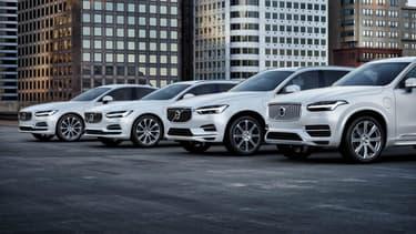 Des véhicules de la gamme actuelle de Volvo (S90, V90, XC60 et XC90) bientôt complété par la nouvelle S60, sans diesel.