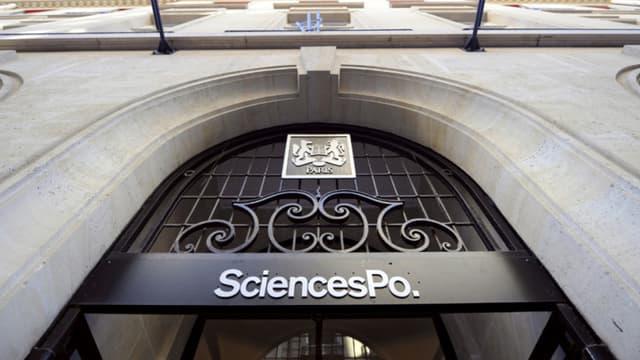 La façade de Sciences Po Paris. - Franck Fife AFP