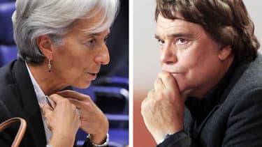 Christine Lagarde a joué un rôle dans l'arbitrage de l'affaire Tapie.