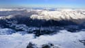 La vallée de Chamonix depuis l'Aiguille du midi.