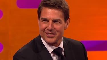 """Tom Cruise sur le plateau du """"Graham Norton Show"""""""