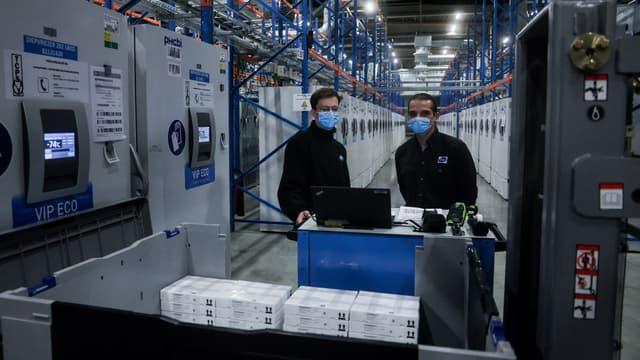Le site de production de Pfizer à Puurs en Belgique.