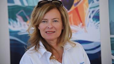 Valerie Trierweiler en juillet 2016
