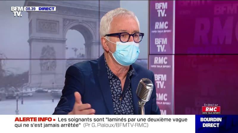 Covid-19: le Pr Gilles Pialoux affirme que les soignants sont