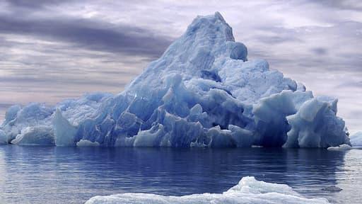 Un iceberg dans l'Antarctique (photo d'illustration)