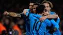 Laurent Koscielny et Lionel Messi