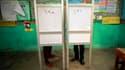 Les Egyptiens continuent de voter jeudi pour le premier tour de l'élection présidentielle au lendemain d'une première journée de vote marquée par une forte affluence et par l'agression d'un des candidats à la magistrature suprême. /Photo prise le 24 mai 2