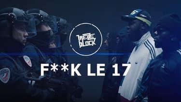 Le secrétaire d'État à l'Intérieur a vivement critiqué un clip de rap anti-police du groupe 13 Block.