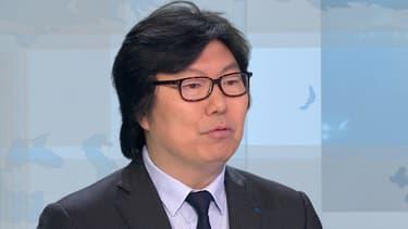 Jean-Vincent Placé sur le plateau de BFMTV le 13 mars 2015
