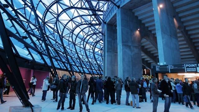 Le stade Océane du Havre lors de son inauguration en 2012.