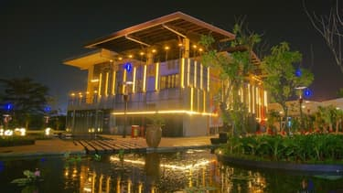 Ce projet en Indonésie est un centre commercial en plein air.