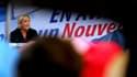 Marine Le Pen le 9 sptembre 2017 à Brachay.