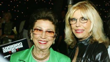 Nancy Sinatra Sr. et sa fille la chanteuse Nancy Sinatra