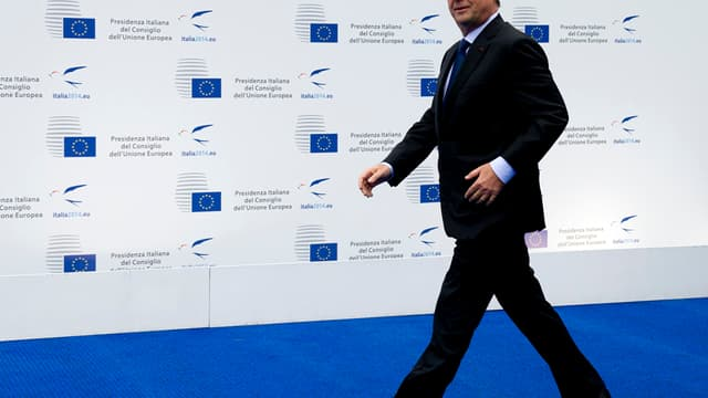 François Hollande à Milan le 8 octobre.