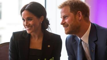 Meghan Markle et le prince Harry le 4 septembre 2018 à Londres