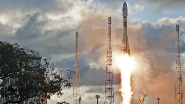 Le lancement du satellite Sentinel-1A, en avril 2014