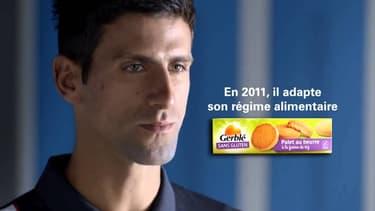 Le champion de tennis Novak Djokovic affirme que son régime sans gluten lui a permis de devenir numéro un mondial.