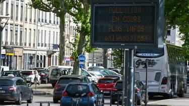 Alerte à la pollution à Lyon le 25 juin 2019