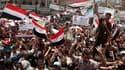Scènes de liesse à Sanaa après l'évacuation du président yéménite Ali Abdallah Saleh en Arabie saoudite, où il a été opéré dimanche dans un hôpital militaire. Les opposants, qui réclament la démission de Saleh depuis le mois de janvier, ont interprété son