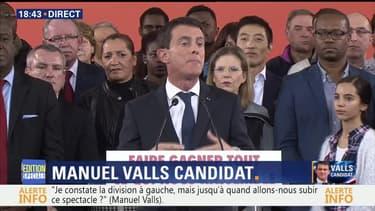Manuel Valls annonce sa candidature pour 2017: l'intégralité de son discours