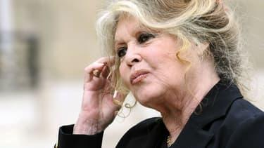 Brigitte Bardot, le 27 septembre 2007, à Paris