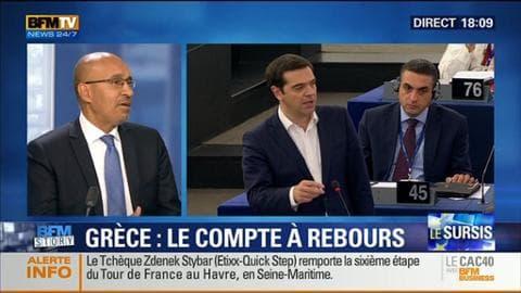 Grèce: le compte à rebours est lancé pour l'avenir du pays dans la zone euro