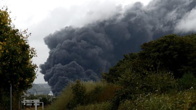 L'incendie de l'usine Lubrizol