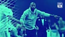 Thierry Henry sur le banc de l'Impact Montréal lors de la saison 2020