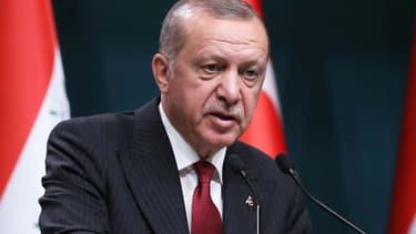Le chef de l'Etat turc Recep Tayyip Erdogan