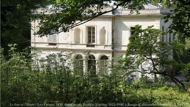 La villa Viardot à Bougival fait partie des sites retenus pour le loto du patrimoine.