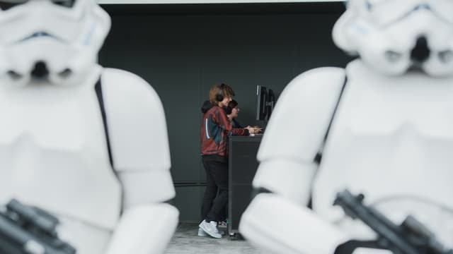 """Les joueurs de """"Star Wars"""" en colère contre l'éditeur EA."""
