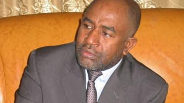 Azali Assoumani, le 16 août 2015, nouveau président des Comores.