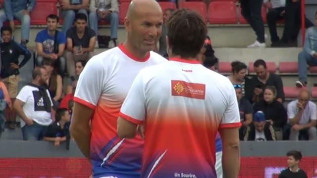 Zinedine Zidane à Toulouse pour la bonne cause