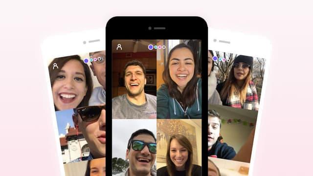 Capture d'écran de l'application House Party