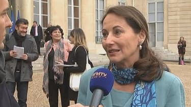 """Ségolène Royal trouve """"inadmissible"""" l'éventuelle augmentation des péages le 1er février prochain."""