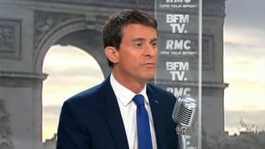 Manuel Valls sur BFMTV et RMC