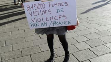 Manifestation contre les violences faites aux femmes, le 29 octobre 2018 à Marseille