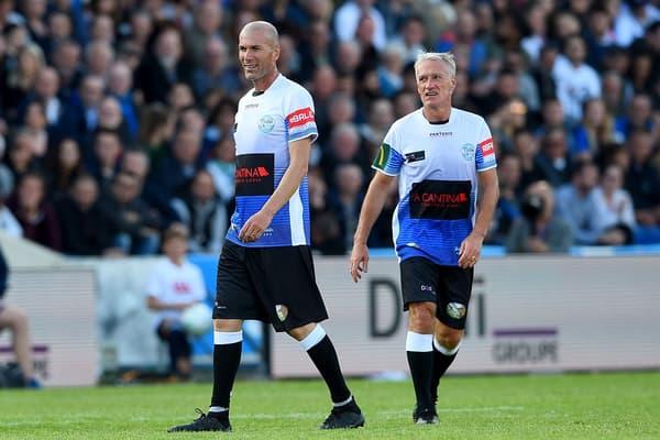 Zidane et Deschamps en mai 2019