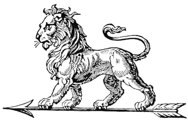 Le tout premier logo créé pour Peugeot, par un orfèvre.