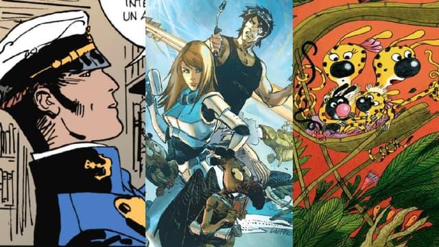 Corto Maltese, Valérian et Laureline ou le Marsupilami, héros cultes de la BD